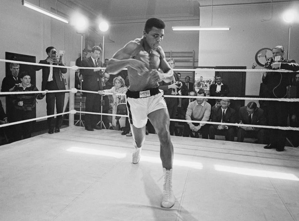 muhammad ali boxing